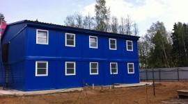 Строительство Модульного Штаба Строительства МО, поселок Фирсановка