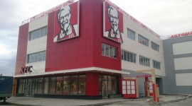 Поставка материала на строительство кафе-ресторанов KFC по Москве и Московской области